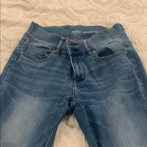 High Waist Jeans